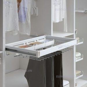 giá vắt quần âu kết hợp để trang sức ray giảm chấnEurogold;