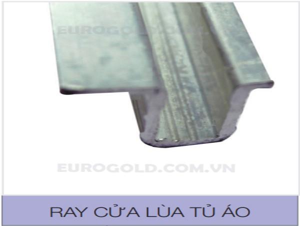 ray cửa lùa tủ áo eurogold